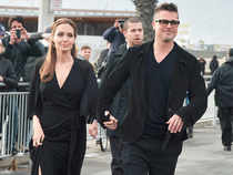 According to the source, it was the first time since the actor separated from Jolie that all of their six kids were with him at one time.