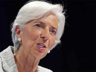 """So, I am personally impressed by the work that is being done in that regard and expect some positive outcome,"" Lagarde said in response to a question."