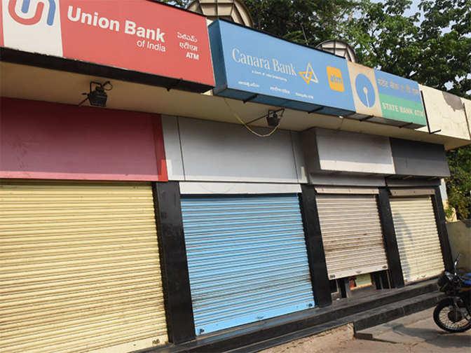 ATMs go dry on  demand-supply mismatch - Economic Times