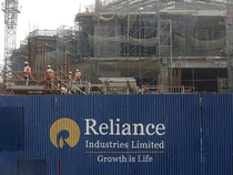 Shares of RIL were trading 3.43 per cent higher at Rs 1,416.40 on BSE at 1236 hrs.