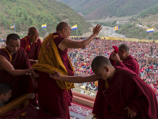 The Chinese move came days after Beijing lodged strong protests with India over the Dalai Lama's visit to the frontier state.