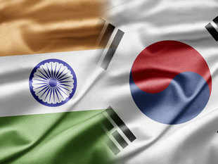 India and South Korea signed an agreement today to firm up bilateral cooperation in defence shipbuilding.