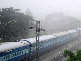 About 15,000 trains were affected because of fog from November last year to February, 2017.