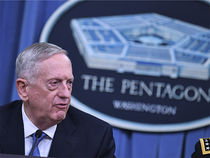 "US Defence Secretary Jim Mattis added that Syria had ""dispersed their aircraft in recent days."""
