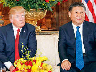 When Chinese President Xi Jinping visited Trump in Florida earlier this month, Trump raised the possibility of using trade as a lever to coax China to do more.