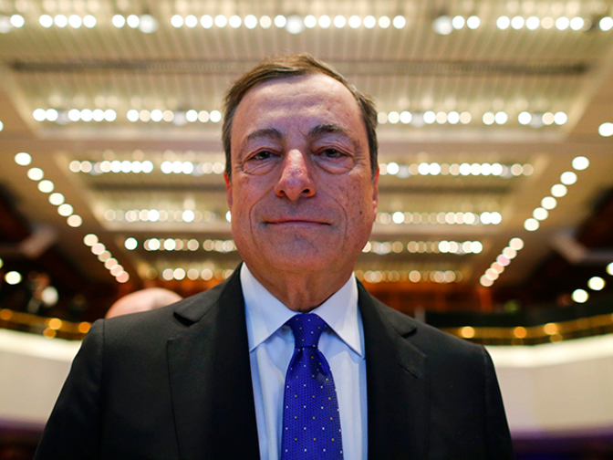 Mario Draghi may opt for faster quantitative easing exit