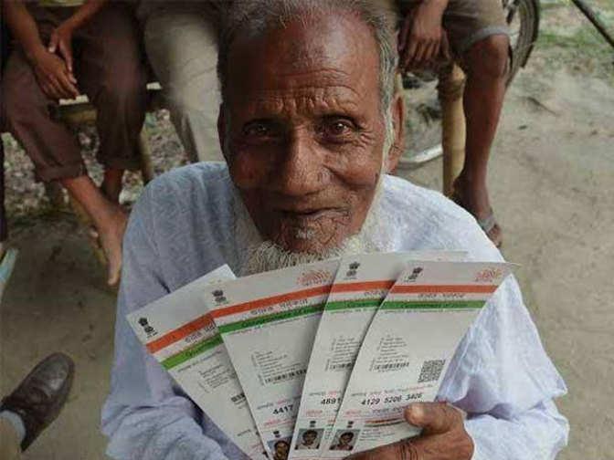 Aadhaar made mandatory to ensure poor get food: Centre to Delhi High Court