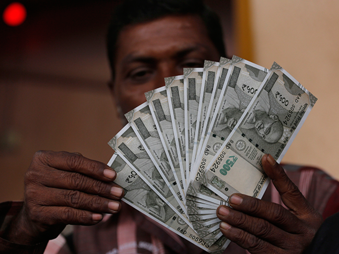 Rupee zooms to new 21-month peak of 64.11, up 15 paise