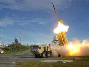 US missile defence equipment reaches South Korean site - The ...