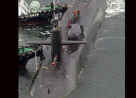 This US sub with Tomahawks is making the world edgy