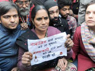 SC today upheld death penalty of four accused - Akshay Thakur, Vinay Sharma, Pawan Gupta and Mukesh Singh.