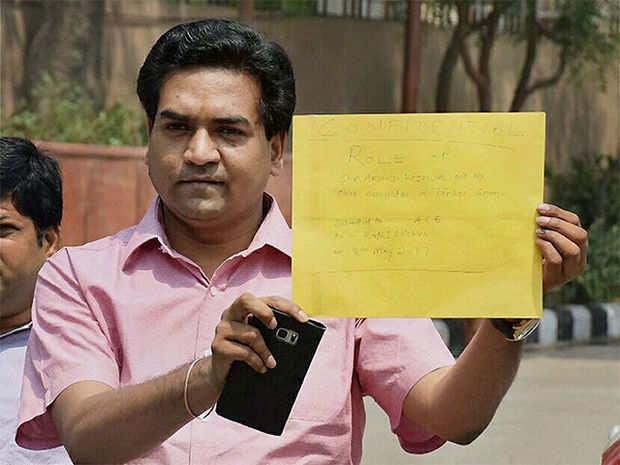 ACB records sacked Delhi Minister Kapil Mishra's statement in tanker scam
