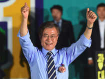 "Moon told staff at his party headquarters that his triumph was born of ""the desperate longings of the people who wanted a regime change""."
