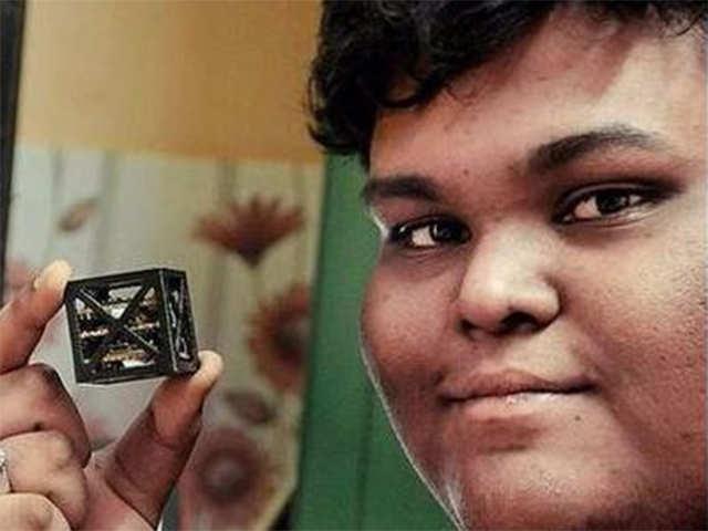 Tamil Nadu boy designs world's 'smallest' satellite for NASA