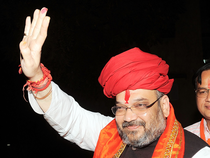 The BJP president reiterated his party's stand on the Ram temple issue saying that it will be built in accordance with the Constitution or through negotiations.