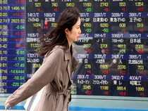 Hong Kong shares opened slightly lower Tuesday following a six-day rally.