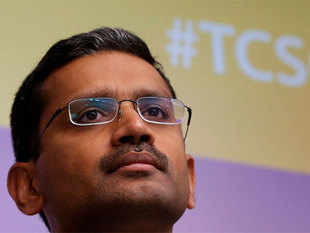 TCS CEO Gopinathan had hinted that changes were underway in the company's fourth-quarter analyst call.
