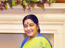 Sushma Swaraj assured Azad and Parliament that the Modi government will leave no stone unturned to save Jadhav.