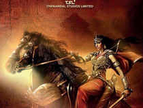 The first look poster of 'Sanghamitra' was unveiled at the ongoing 70th Cannes Film Festival.