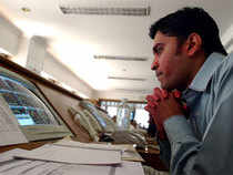 The NSE Nifty was up 69.95 points in Friday morning's  trading session.