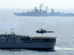 These warfare ships will enhance India's ability to conduct sea-borne offensives in enemy areas.