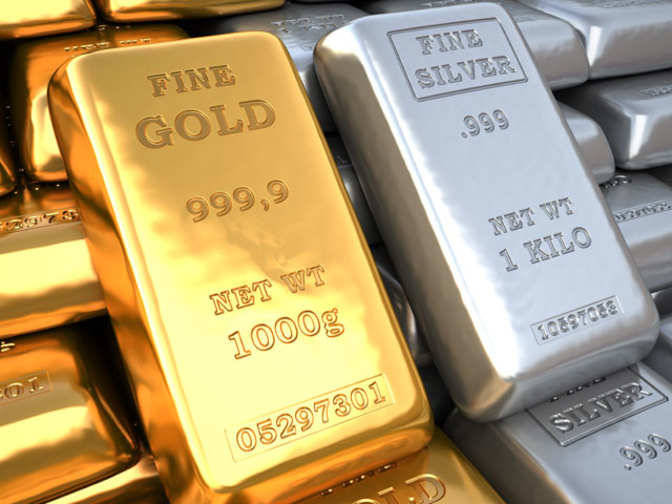 Gold, silver futures rise on global cues
