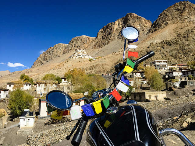 Head to Spiti Valley on a biking adventure this summer and write your own motorcycle diaries!