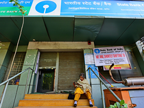 SBI is seeking capital to bolster loan growth after reporting fourth-quarter profit more than doubled.