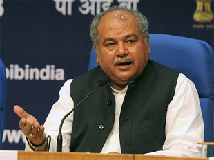 Narendra Singh Tomar said that labour ministry data only captures the organised sector but the large scale employment opportunities generated through development schemes has not been tapped yet.
