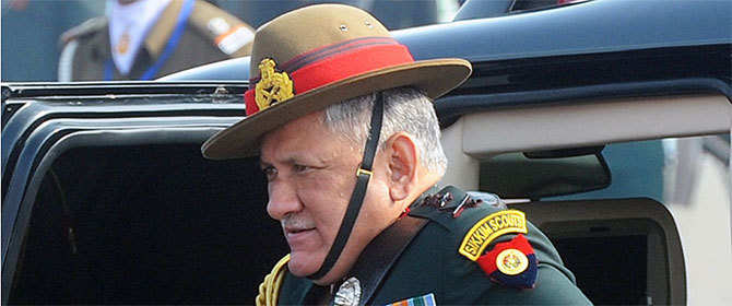 Army is facing a 'dirty war' in J&K: General Bipin Rawat