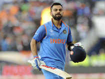 While he was pleased with the win, Kohli was not impressed with India's fielding.