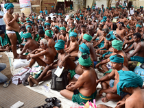The farmers have been demanding loan waiver, drought- relief package of Rs 40,000 crore and setting up of the Cauvery Management Board among others.