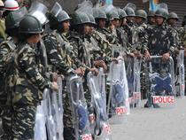 Three companies of women's batallion of the CRPF have been asked to maintain law and order in the area.