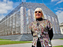 Marta Minujin by The Parthenon of BooksIn Pic: