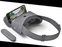 Setting up the Daydream View takes a couple of minutes via onscreen instructions in the app.