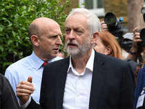 """"""" I'm totally shocked at the incident at Finsbury Park tonight,"""" Corbyn posted on Twitter."""