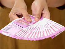 The rupee on Monday opened 7 paise up at 64.36 against dollar on account of selling of American currency by banks and exporters.