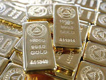 MCX Gold was trading 0.22 per cent, or Rs 63, down at Rs 28,627 per 10 gram