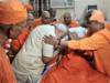 Swami Atmasthananda with his disciples
