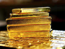 US gold futures for August delivery fell 0.1 per cent to $1,245.10 per ounce