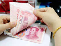 The offshore yuan was trading 0.04 per cent away from the onshore spot at 6.8338 per dollar.