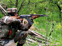 Three LeT men, one civilian killed in Kashmir