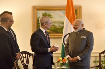 Apple is making phones in India, Tim Cook tells Prime Minister Narendra Modi