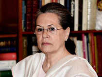 The Congress president led the 17 opposition parties in accompanying the former Lok Sabha speaker as she filed her nomination on the last day today.