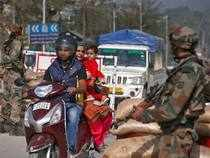 Authorities had imposed curfew in three towns - Shopian and Tral in south Kashmir and Trehgam in north - while strict restrictions were enforced elsewhere in the Valley yesterday.