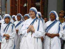 It was wise, therefore, that the nuns of the Missionaries of Charity order decided to protect their own blue and-white stripes.