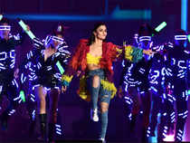Alia Bhatt performs during the IIFA Awards of the 18th International Indian Film Academy (IIFA) Festival at the MetLife Stadium in East Rutherford, New Jersey.