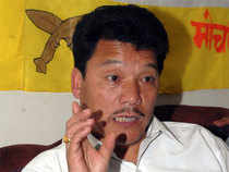 """""""If I need to shed my blood I am ready to do that, but the fight will go on till Gorkhaland is achieved,"""" Gurung said."""
