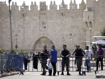 Israeli authorities then closed the compound, citing security concerns, hours before Muslim Friday prayers.