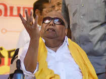 Karunanidhi has been unwell since December last and barring him, all other 88 DMK legislators voted in the election.